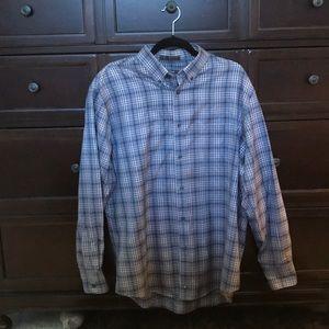 Nordstrom Gray Button Down Shirt